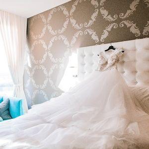 Casablanca Couture Wedding Bridal Gown B075 Sz 8